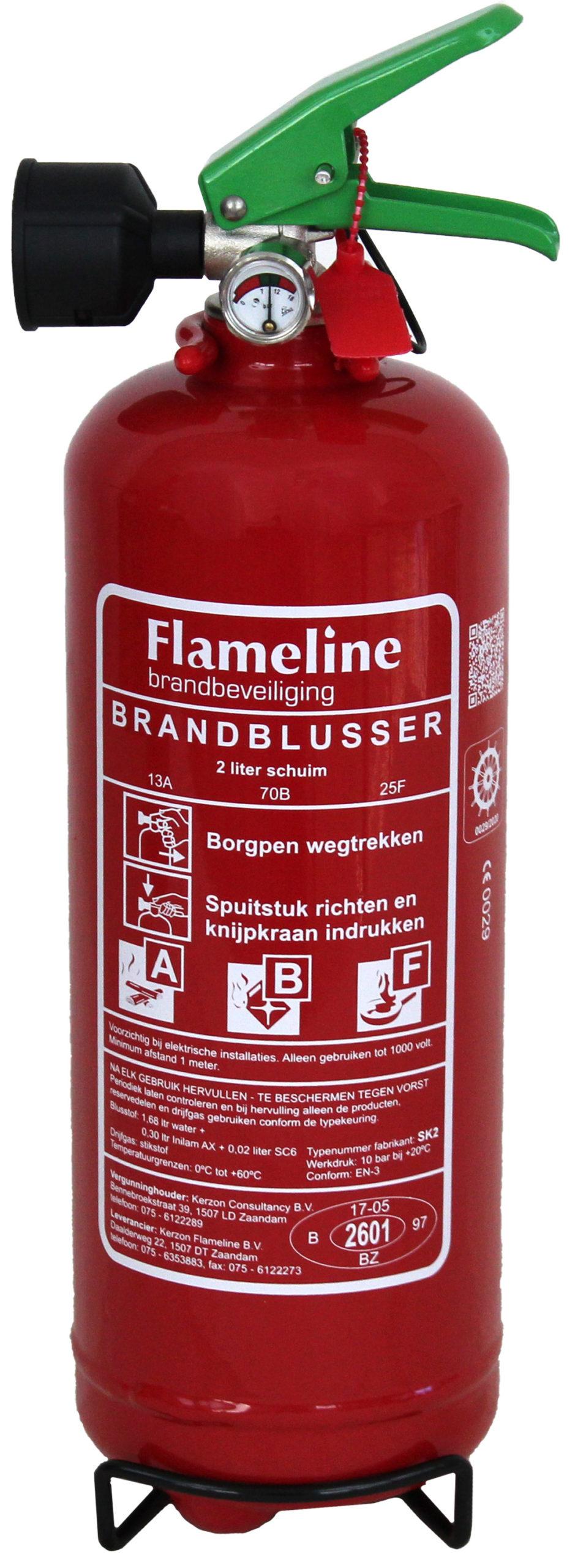 SK2 Schuim+ vet blustoestel 2 liter rating 13A-70B-40F