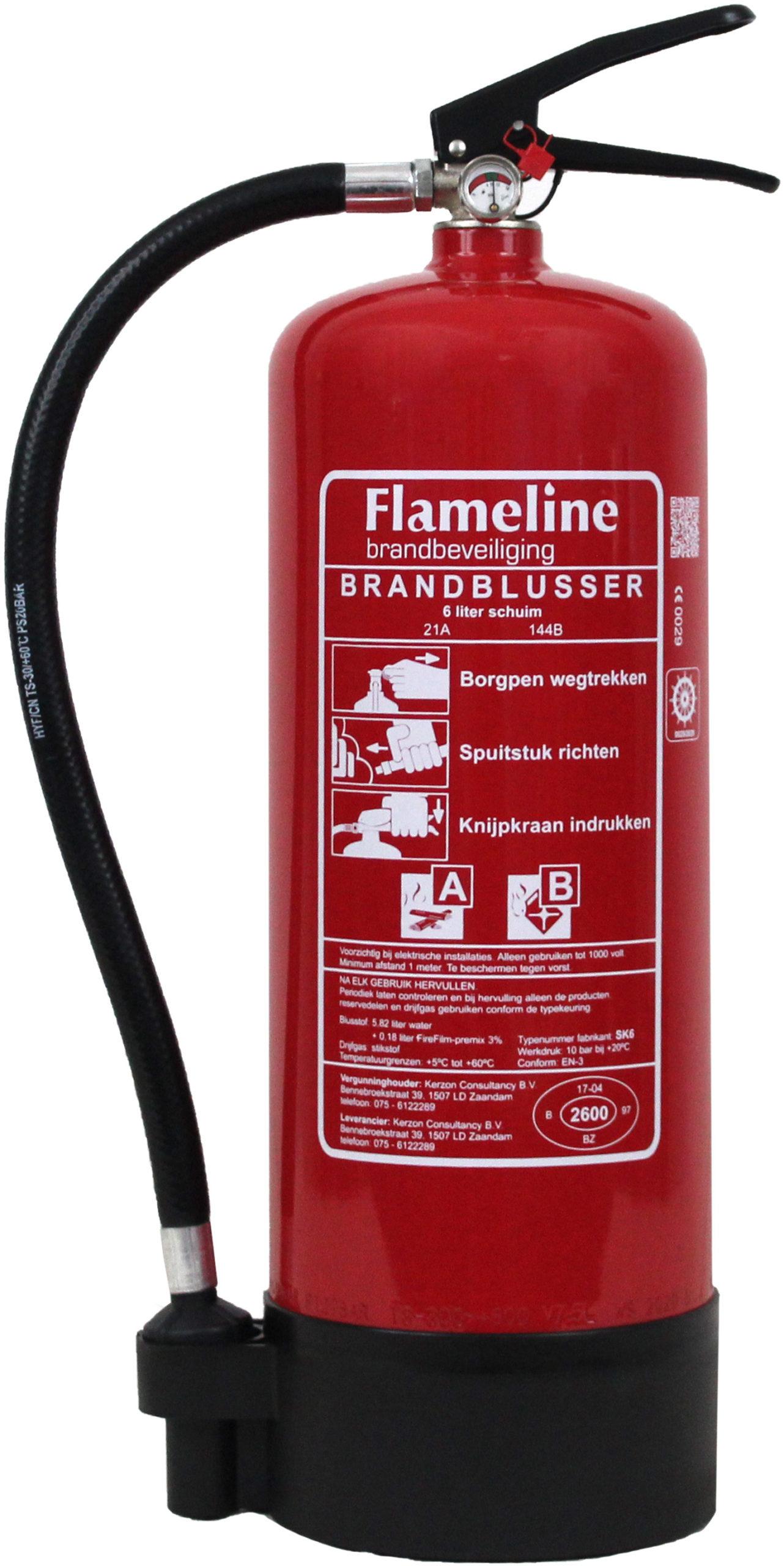 SK6 schuimblustoestel  6 liter budget  rating 21A-144B