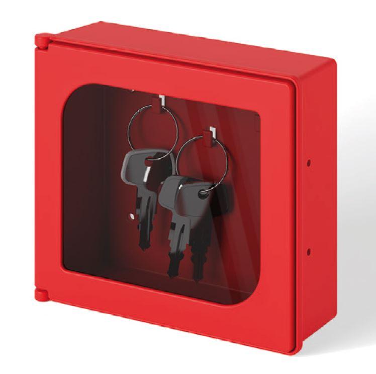 Sleutel kastje rood ABS