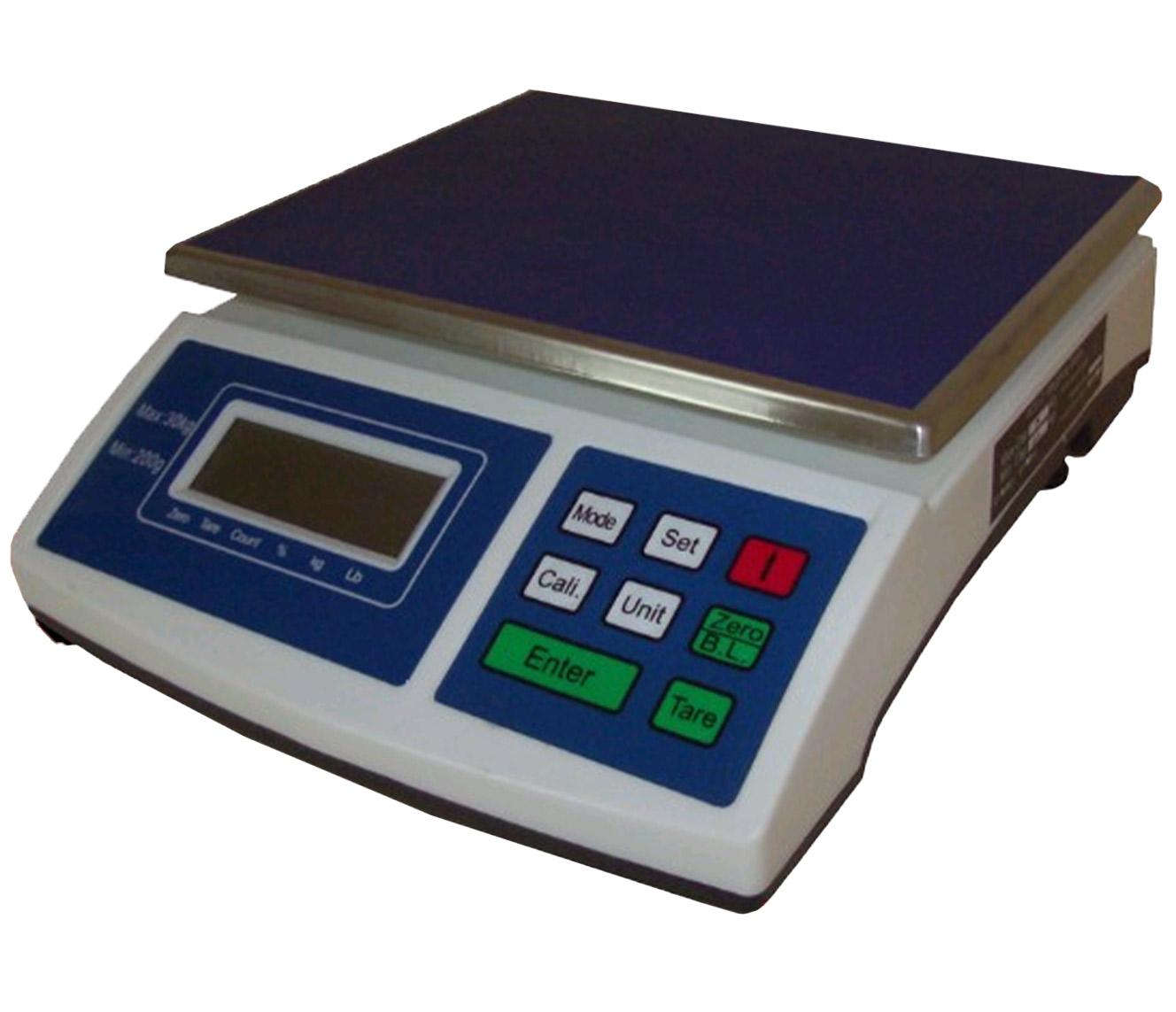 Weegschaal 30kg-1gr