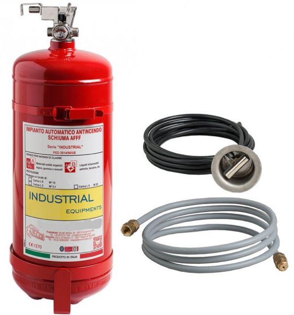 Marine Fire automatische blussysteem 3-6-12 kg gas HCF227
