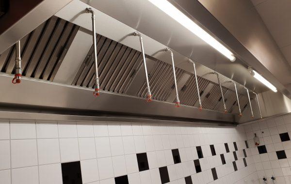 Keuken blussystemen WCK