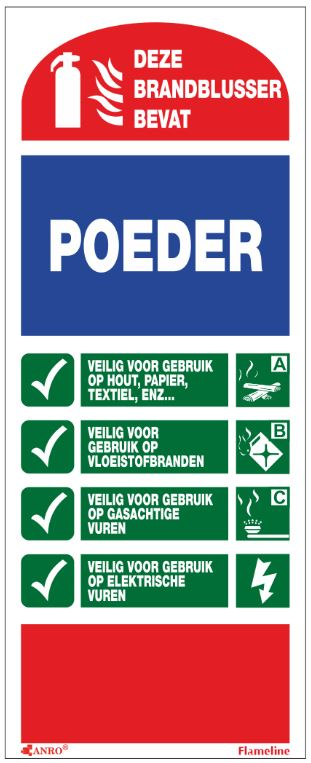 Pictogram Poeder